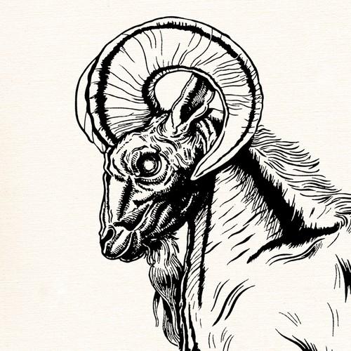 Rearing Ram