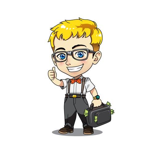 GeeK mascot Illustration