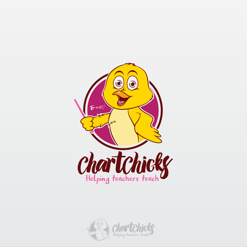 chick character for ChartChicks