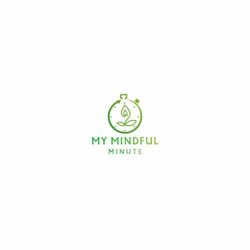Meditation modern logo