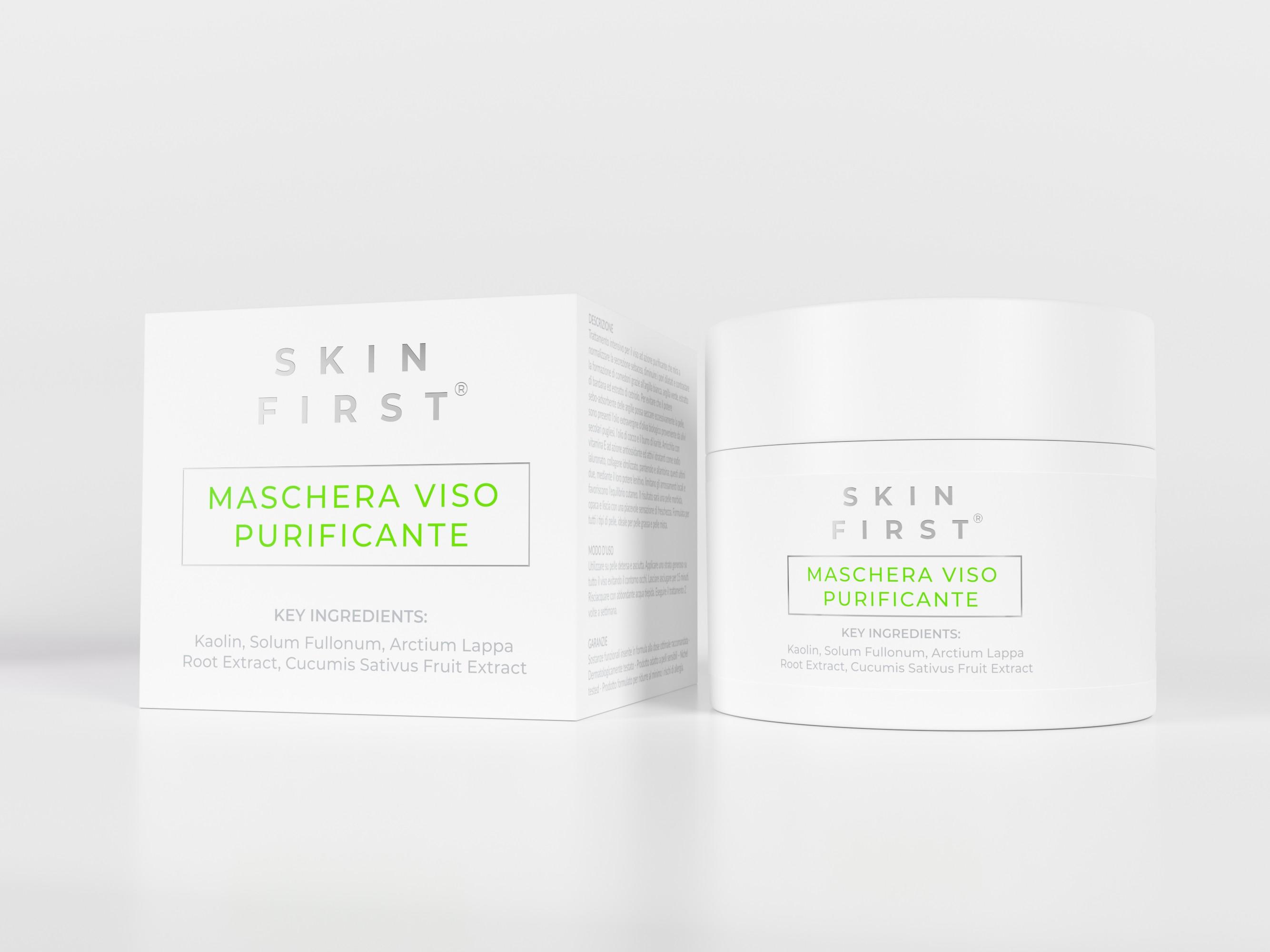 Skin First 3D Renders