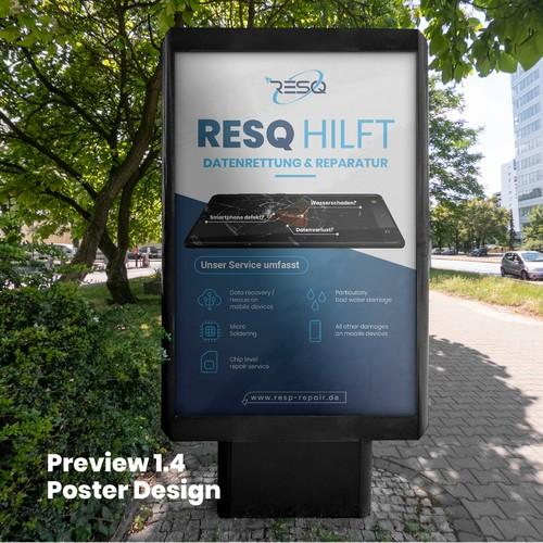 Poster Design fo RESQ