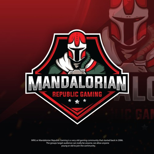 Logo for Mandalorian Republic Gaming