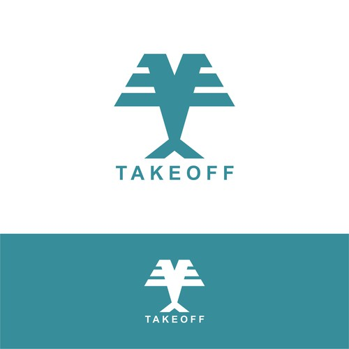 logo concept for takeoff
