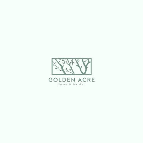 Logo concept for Canada's largest garden centres'