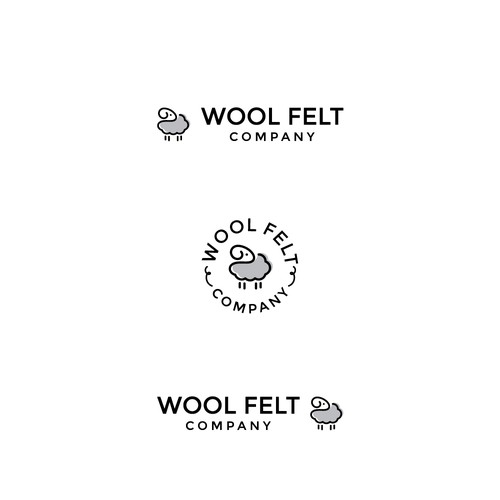 a new logo for a company selling wool fabric