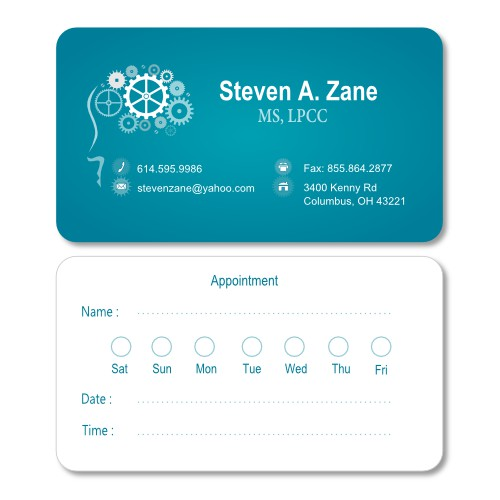 Business Cards for a doctor...that's not boring