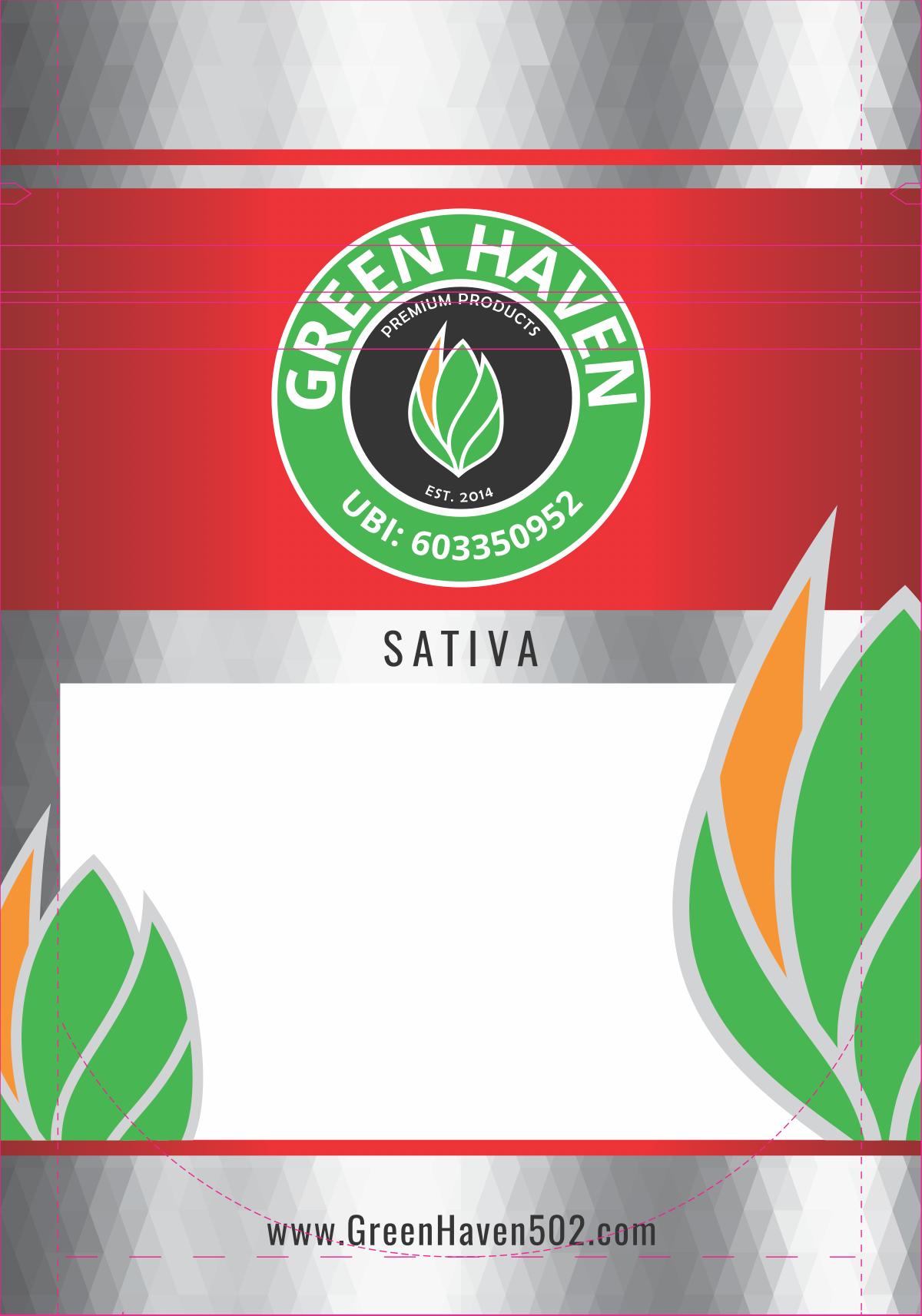 3.5x5 Green Haven Bag Design