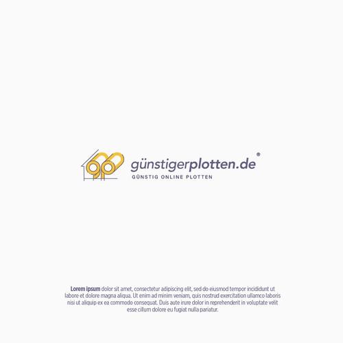 Logo & brand identity pack for 'guenstigerplotten'