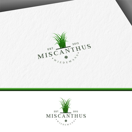 Miscanthus Wiedemann — Small Farm needs classic and clean Logo