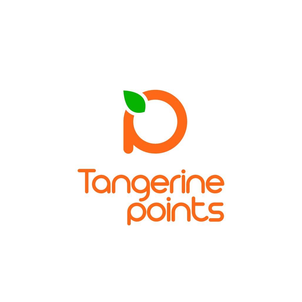 Tangerine Points Logo Design