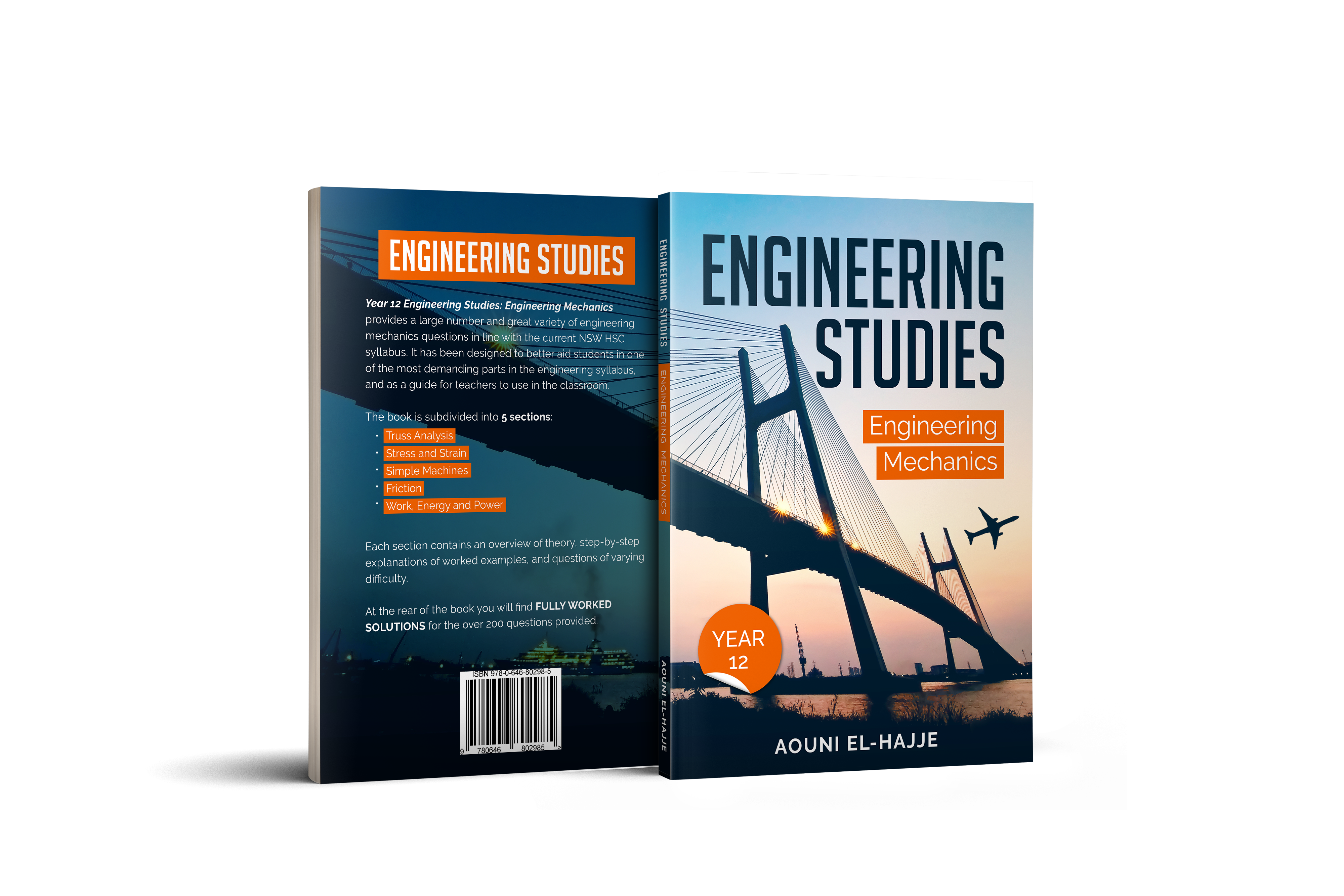 Engineering Mechanics Textbook Cover Design