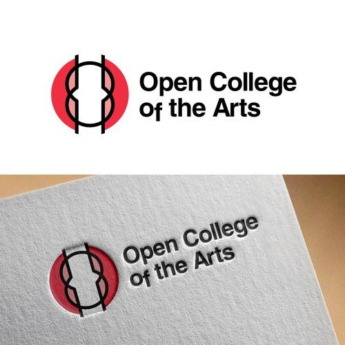 Logotipo para o Open College of the Arts