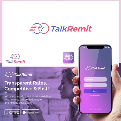 Logo Concept for Talk Remit