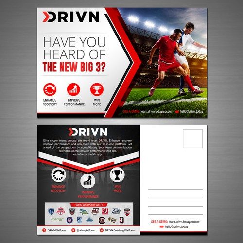Sports Tech Company Needs Soccer Mailer