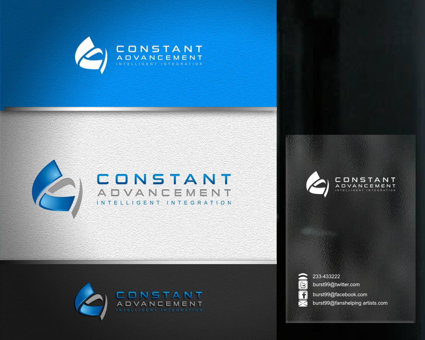 Create the next logo for Constant Advancement