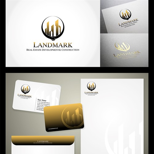 Logo concept for real estate firm