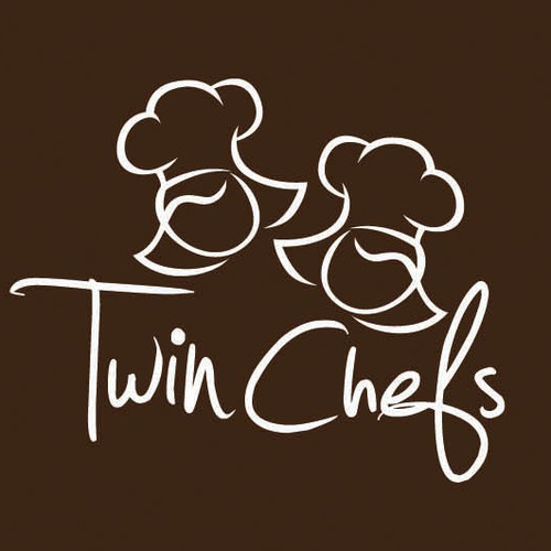Twin Chefs Logo Design
