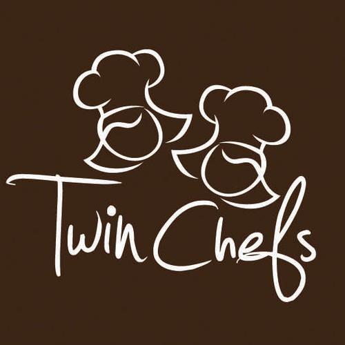 Twin Chefs Logo Design