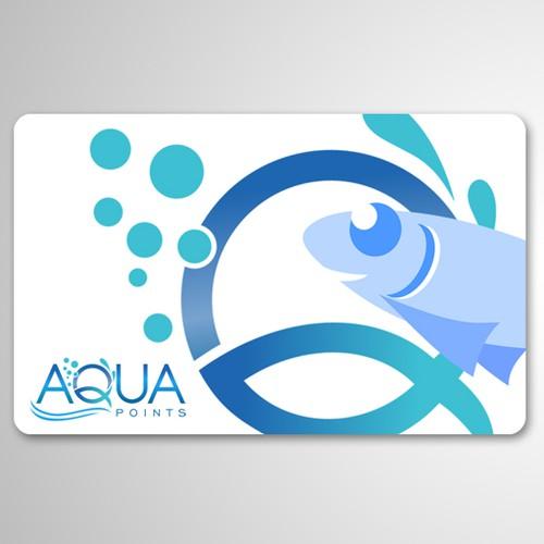 Card design for aqua points