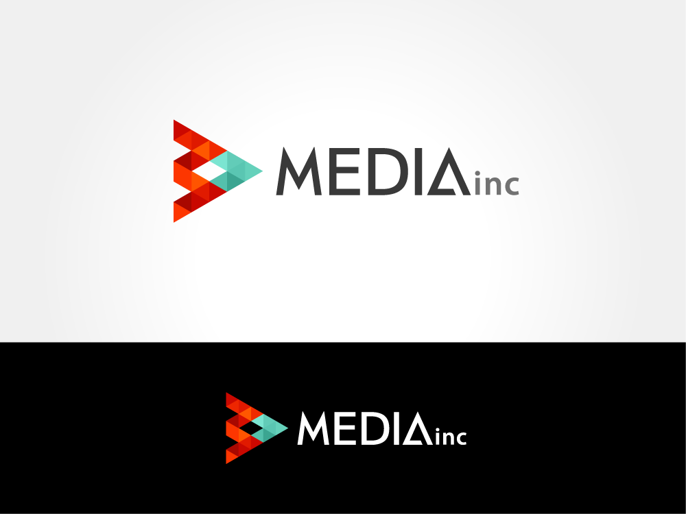 Simple Logo for Media Company