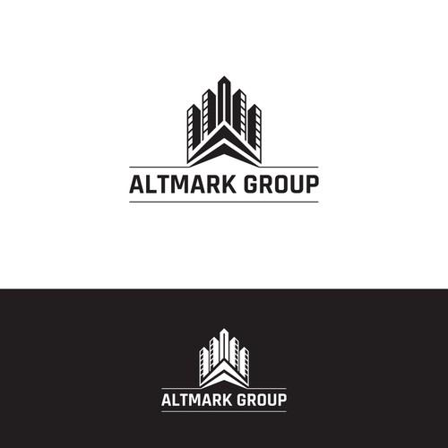Eal Estate Logo Concept for Altmark Group