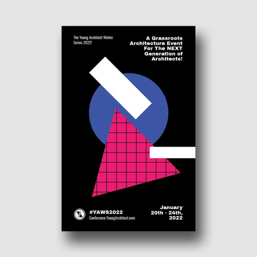 Poster Design for Millennial Architecture Conference