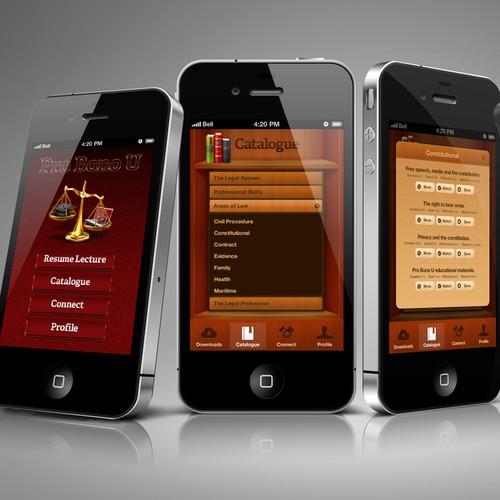 App Design: Legal Education
