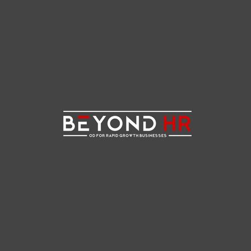 Beyond HR logo design concept