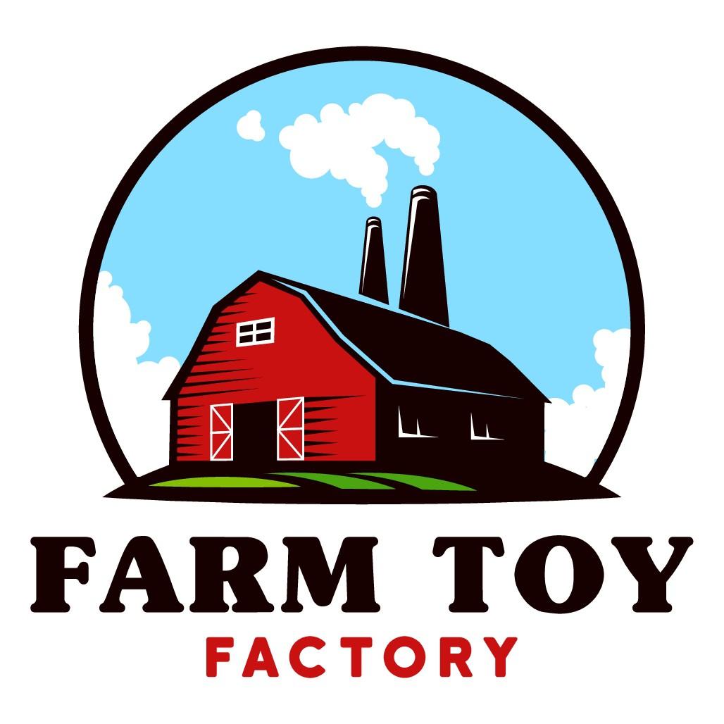 Create a fun farm barn logo for farm toy company