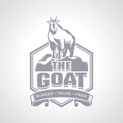 The Goat Ski Bar Concept Logo