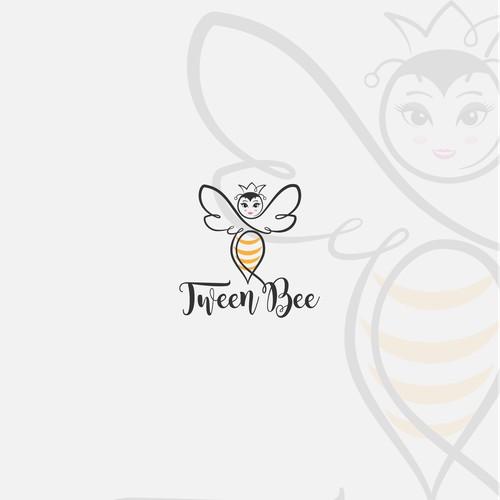 Logo design concept for Tween Bee