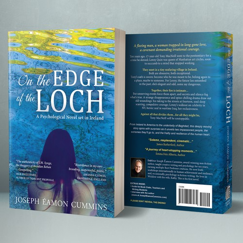 """Book cover for """"On the Edge of the Loch"""""""