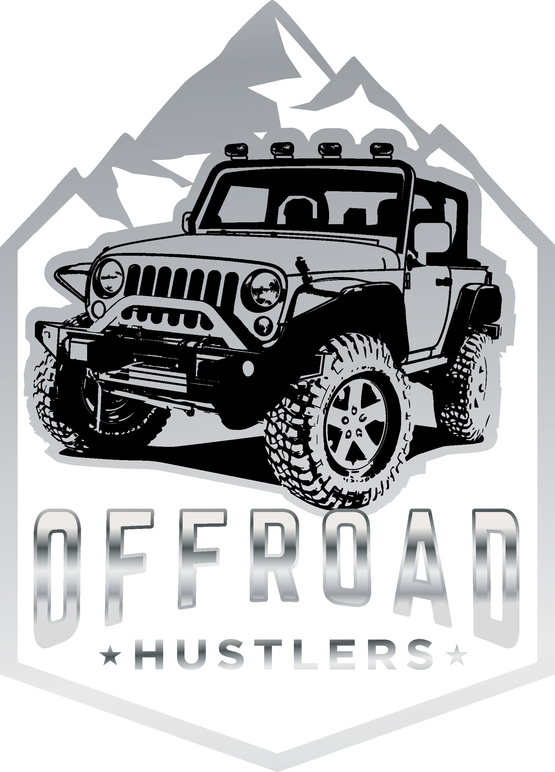 Design a powerful Brand that Offroaders will put on their vehicles