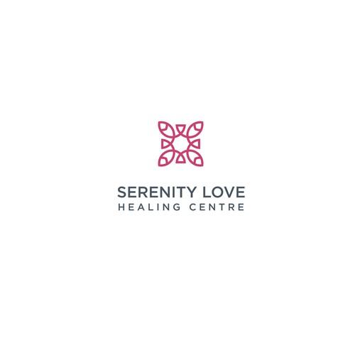 Serenity Love Healing Centre Logo Design