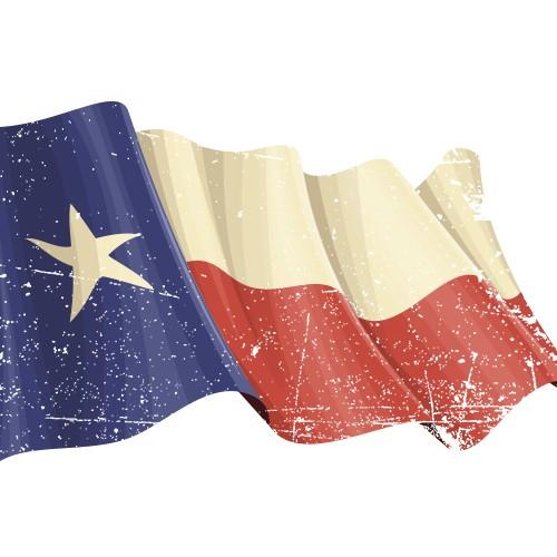 Texas Vintage Flag
