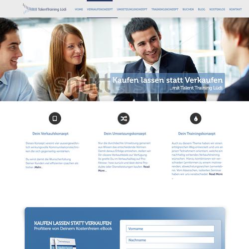 ReDesign einer Wordpress-Seite