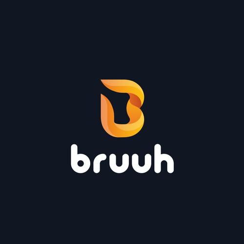 Bruuh logo design