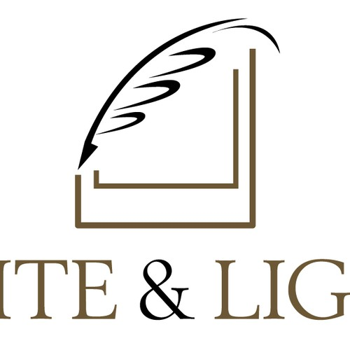 A logo for Write and Light, a writer/photographer collaboration