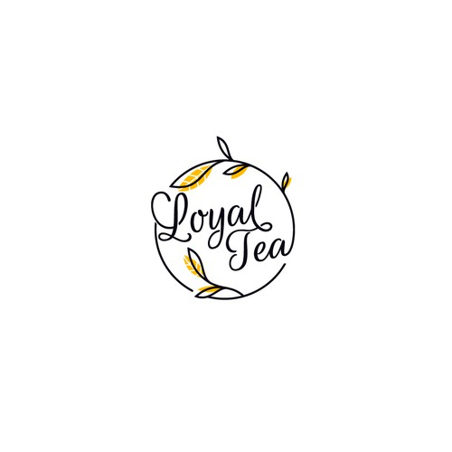 Loyal Tea logo design