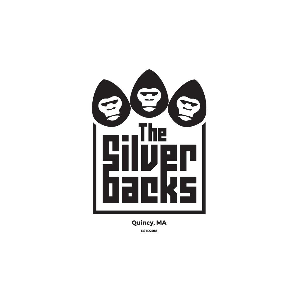 Create rockin logo for a band called The Silverbacks