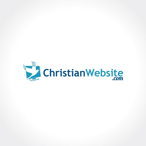 Log design for a  website that help people create their own Christian website.