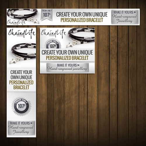 Original Chain of Life Banner Ads