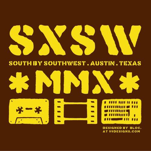 SXSW 2010 Oficial T-Shirt