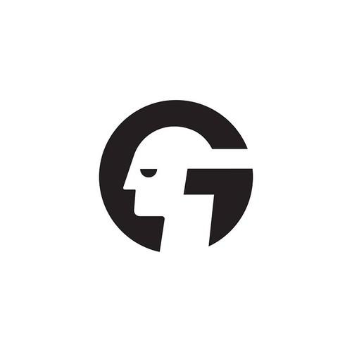 Letter G head / Face logo