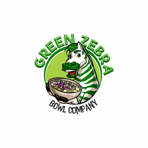 Green Zebra Food Truck needs a logo that says fun, fresh, delicious.