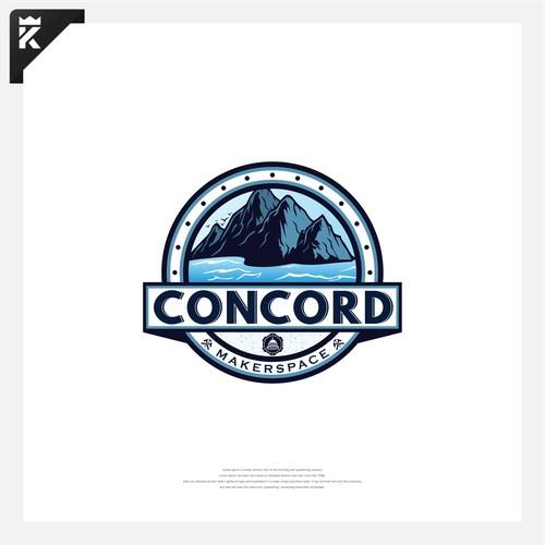 Emblem Logo Concept for Concord
