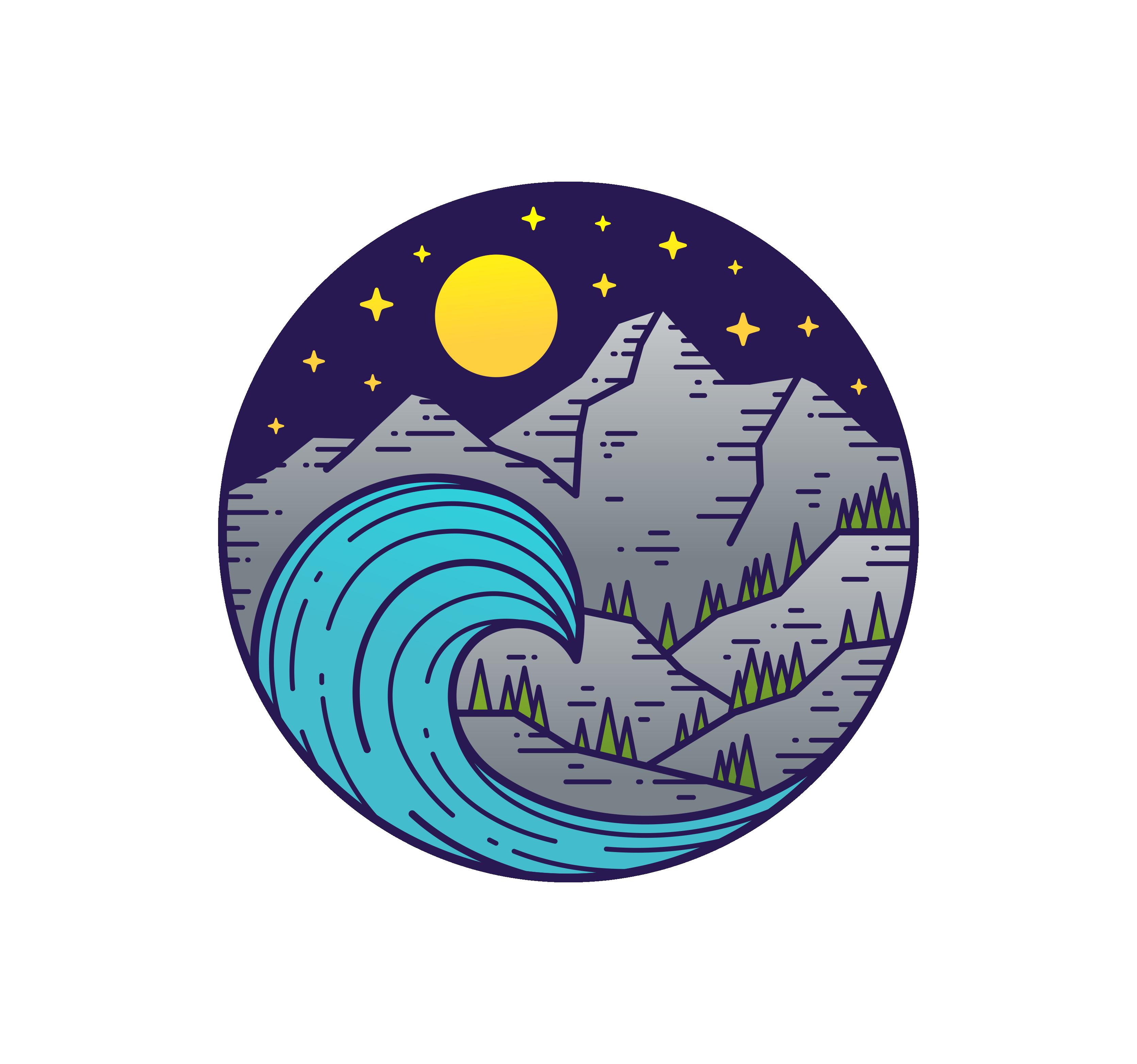 Logo for eco-clothing company