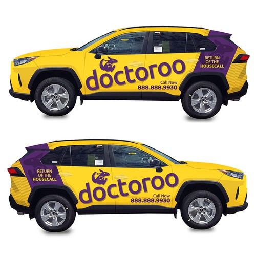 car wrap for doctoroo