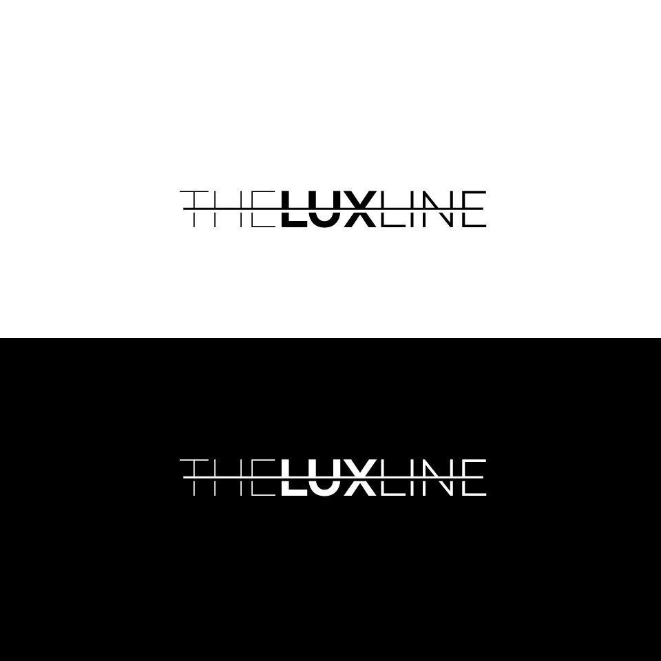 Logo for mens fashion brand THE LUX LINE